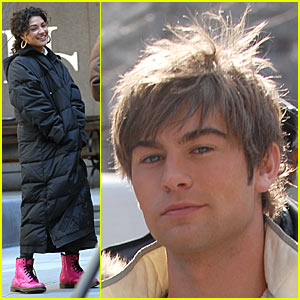 Chace Crawford and the Pink Boots