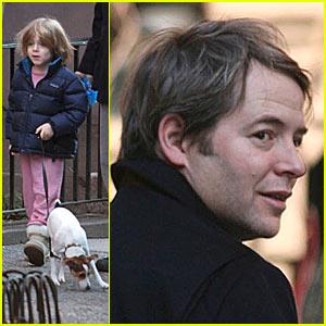 James Wilke Walks the Family Dog