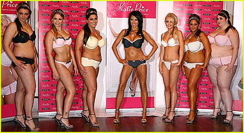 Katie Price Launches Lingerie Line