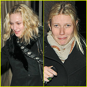 Madonna & Gwyneth Paltrow's Dinner Date