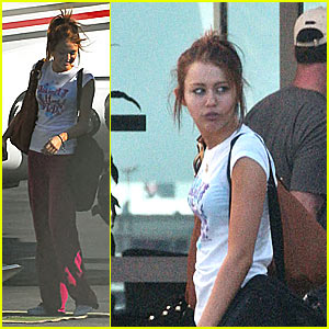 Miley Cyrus Goes Mile High