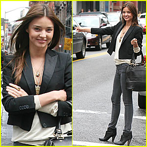 Miranda Kerr is a SoHo Sweatheart