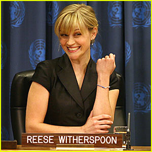 Reese Witherspoon Promotes Women's Empowerment Bracelet