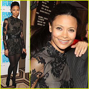 Thandie Newton @ Run, Fatboy, Run Premiere