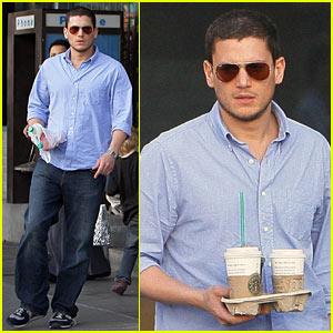 Wentworth Miller Craves Caffeine