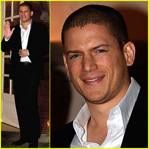 Wentworth Miller Makes a Paris Prison Break