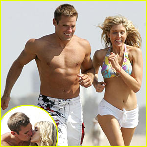 Andy Baldwin & Marla Maples' Beach Romp
