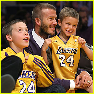 David Beckham: Let's Go Lakers!