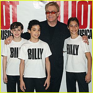 Elton John: Here are the Billy Elliot Boys!
