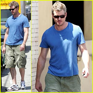 Eric Dane is Pec Proud