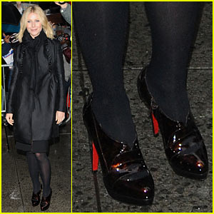 Gwyneth Paltrow Runs Into Letterman