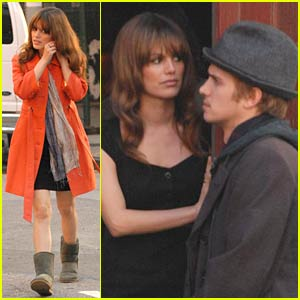 Rachel Bilson Jazzes Her Orange Jacket