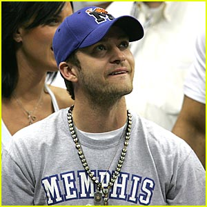 Justin Timberlake is a Memphis Tiger