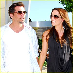 Kate Beckinsale and Len Wiseman Intermix