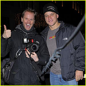 Matt Damon is Pals with Paparazzi