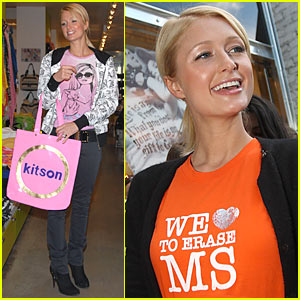 Paris Hilton Enters the Race to Erase MS