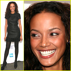 Selita Ebanks is a Giant Tribeca Film Fan