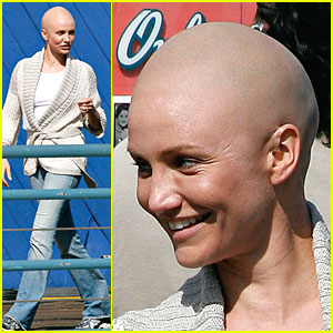 Cameron Diaz is Bald and Beautiful