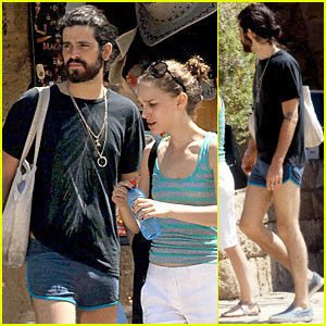Devendra Banhart Wears Short Shorts