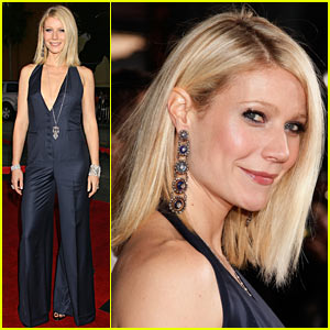 Gwyneth Paltrow Does the Jumpsuit Jive