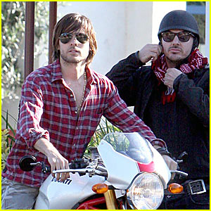 Jared Leto is a Motorcycle Man