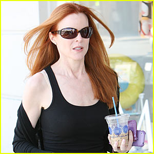 Marcia Cross is in the Red Again!