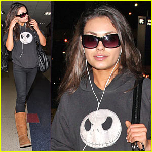 Mila Kunis is Mona Sax Ready
