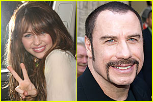 Miley Cyrus & John Travolta Duet in the Works?