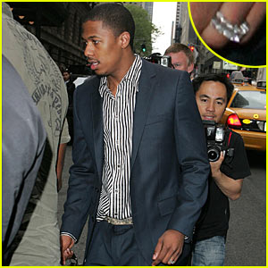 Nick Cannon: Peep My Wedding Ring!