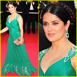 Salma Hayek Does the Cannes Cannes