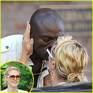 Heidi Klum's Kiss From a Seal