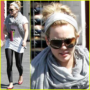 Hilary Duff Brings on Breakfast