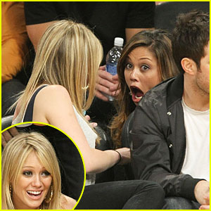 Hilary Duff & Vanessa Minnillo: OMG!