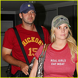 Jessica Simpson: Real Girls Eat Meat