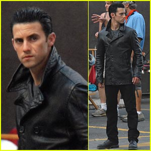 Milo Ventimiglia Is Slick, Scarred