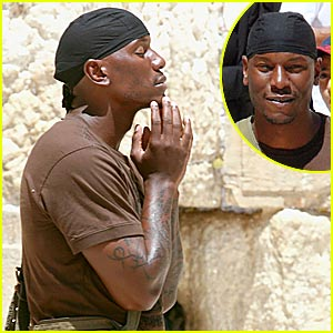 Tyrese is a Praying Man