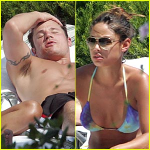vanessa minnillo nick lachey pool Nick Lachey and Jessica Simpson Sex Tape in My Photos by ► ◄