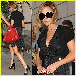 Victoria Beckham is a Louboutin Lady
