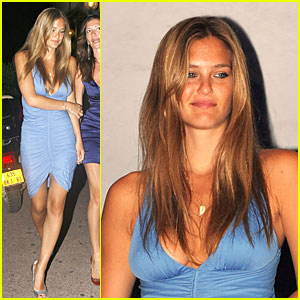Bar Refaeli is a Blue Buxom Beauty