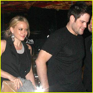 Hilary Duff and Mike Comrie Go Katsuya-Krazy