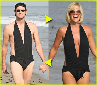 Fashion Faceoff: Sexy Black Swimsuit