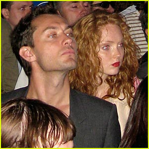 Jude Law & Lily Cole are Radiohead Fans