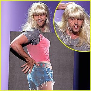 Justin Timberlake Impersonates Jessica Simpson