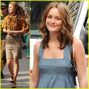 Leighton Meester is a Denim Darling
