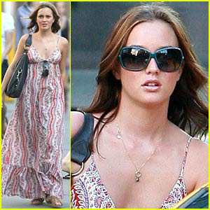 Leighton Meester is a Greenwich Gossip Girl