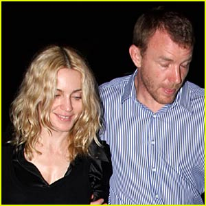 Madonna and Guy Ritchie Dine Together