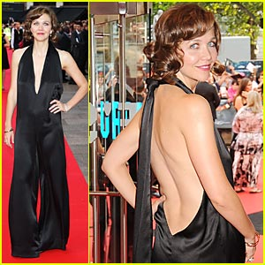 Maggie Gyllenhaal Joins Jumpsuit Mania
