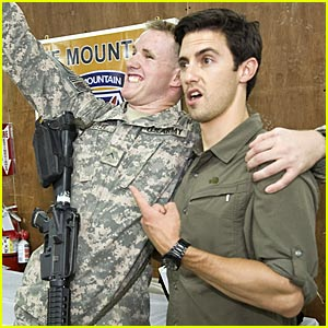 Milo Ventimiglia: My USO Tour Pictures