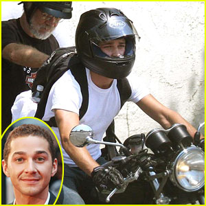 Shia LaBeouf is a Motorcycle Man
