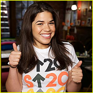 America Ferrera Stands Up 2 Cancer